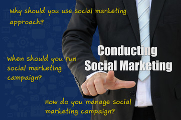 How to conduct social marketing campaign