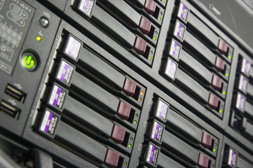Status running of Storage Server