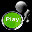 Play Pressed Means Games Entertainment And Fun
