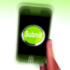 Submit Mobile Means Submitting On Entering Online