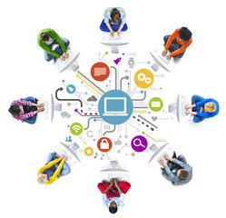 People Social Networking and Computer Network Concepts