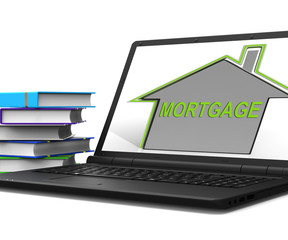 Mortgage House Tablet Means Repayments On Property Loan