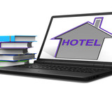 Hotel House Tablet Means Holiday  Accommodation And Vacancies poster