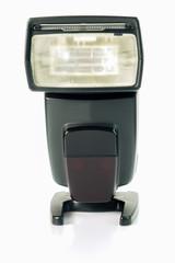 Digital auto flash, isolated on white background