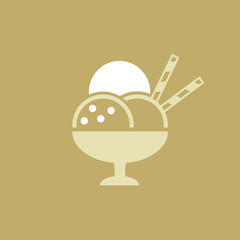 Icecream Flat Icon