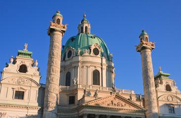 Karlskirche (St. Charles Church). Vienna, Austria