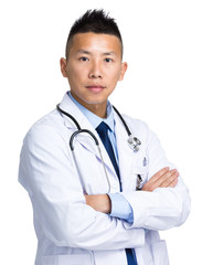 Male medical doctor