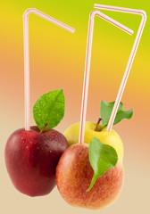 des pommes à boire