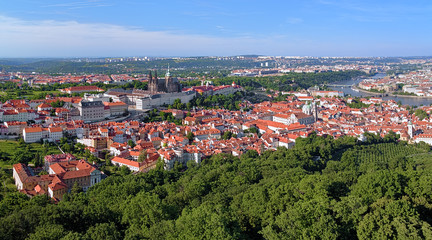 View of Prague Castle and Castle District