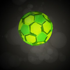 Vector football, soccer Ball