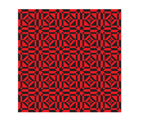 Red-ethnic-modern-geometric-seamless-pattern-ornament