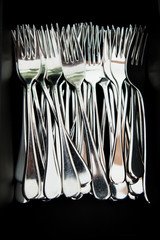 Metal eating forks