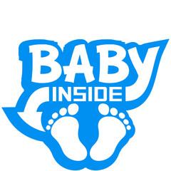 Baby Inside Boy Logo