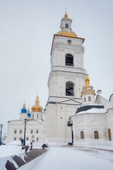 Tobolsk Kremlin. Winter view. Russia