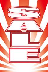背景壁紙(セール・バーゲンセール・販促・販売・コマーシャル・広告・宣伝)