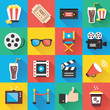Modern Flat Icons for Web and Mobile Applications Set 5