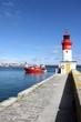 chalutiers dans le port de pêche du guilvinec,bretagne - 66040450
