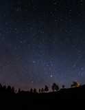 Nachthimmel über dem Ostallgäu - 66040490
