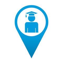 Icono localizacion simbolo graduado