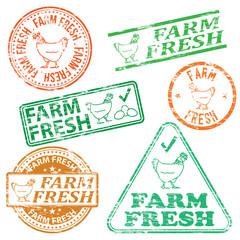 Farm Fresh Stamps