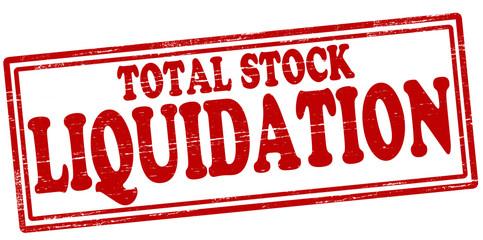 Total stock liquidation