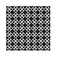 Seamless geometric black and white pattern. To see similar