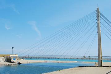 Puente, río Fuengirola y mar, Fuengirola