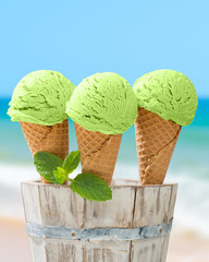 Minty Ice Creams