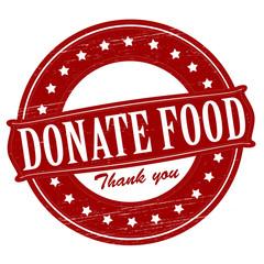 Donate food