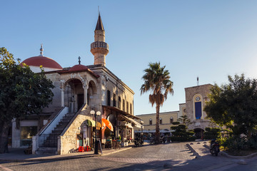 Ottoman mosque in Kos island central square, Greece