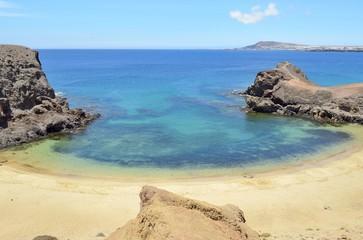 the papagayo beach