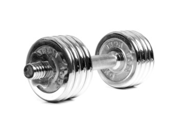 Foto chrome dumbbells