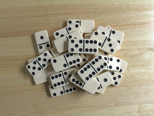 Dominoes Group Cluster Top View Jumble