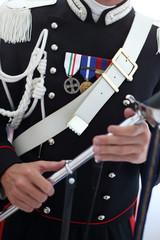 alta uniforme da carabiniere