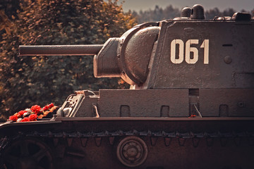 Russian heavy tank KV-1