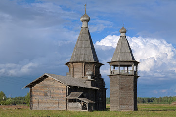 St. John Chrysostom church in Saunino village, Russia