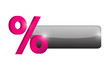 percentage button illustration design