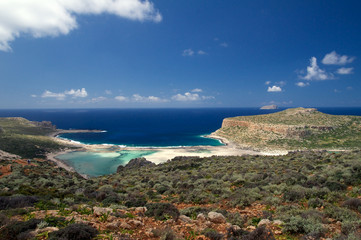 Insel Kreta - Strand Balos Bay