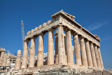 The Ancient Parthenon, Athens, Greece