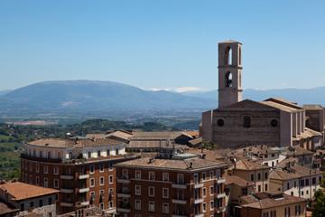 Italy. Panorama Perugia.
