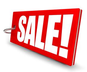 Sale! Button, Icon