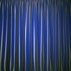 curtain blue color