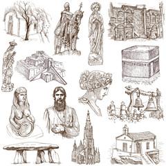 Religion and Spiritual Life around the World (set no.3)