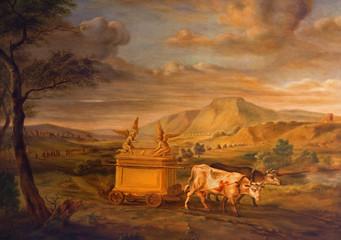 Antweor - Scene of transportation of the Tabernacle of Israel