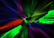 canvas print picture - Farbspiel bunt