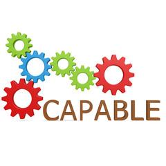 Capable gear