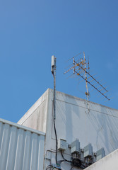 Cell Phone Tower and  TV antenna