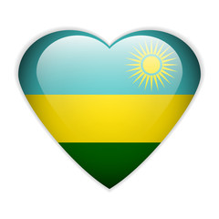 Rwanda flag button.