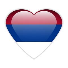 Serbia flag button.