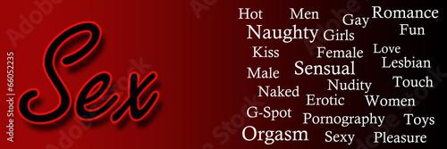 Sex Text Keywords Banner